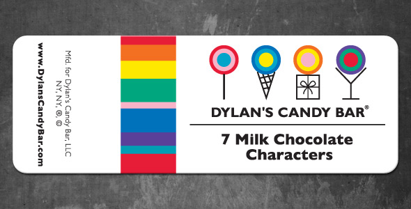 Dylan's Candy Bar Label