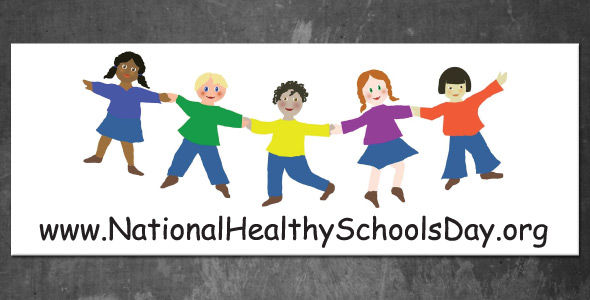 National Healthy Schools Day Label