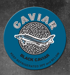Caviar Label